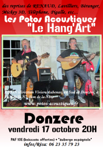 hang'art 17 octobre 2014