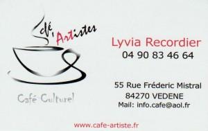 café d'artistes vedène 001