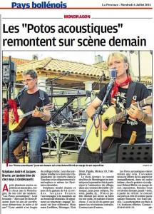 La Provence 6 08 2014