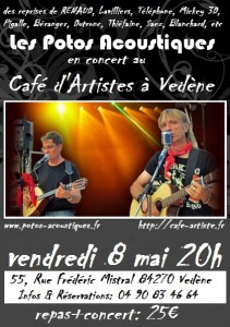 Café d'Artistes 8 mai 2015
