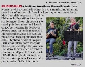 La Provence 14 10 2015