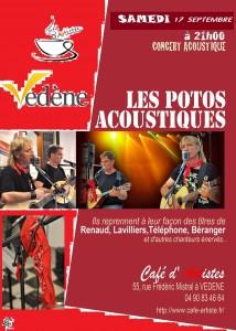café artistes vedène 17 09 16
