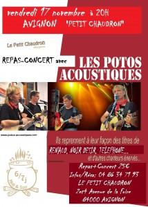 Avignon Petit Chaudron 17 nov 2017