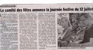 article dauphiné 5 juillet 2014