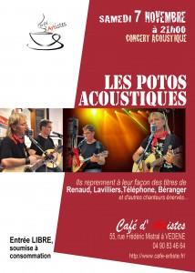 café artistes vedène 7 11 2015